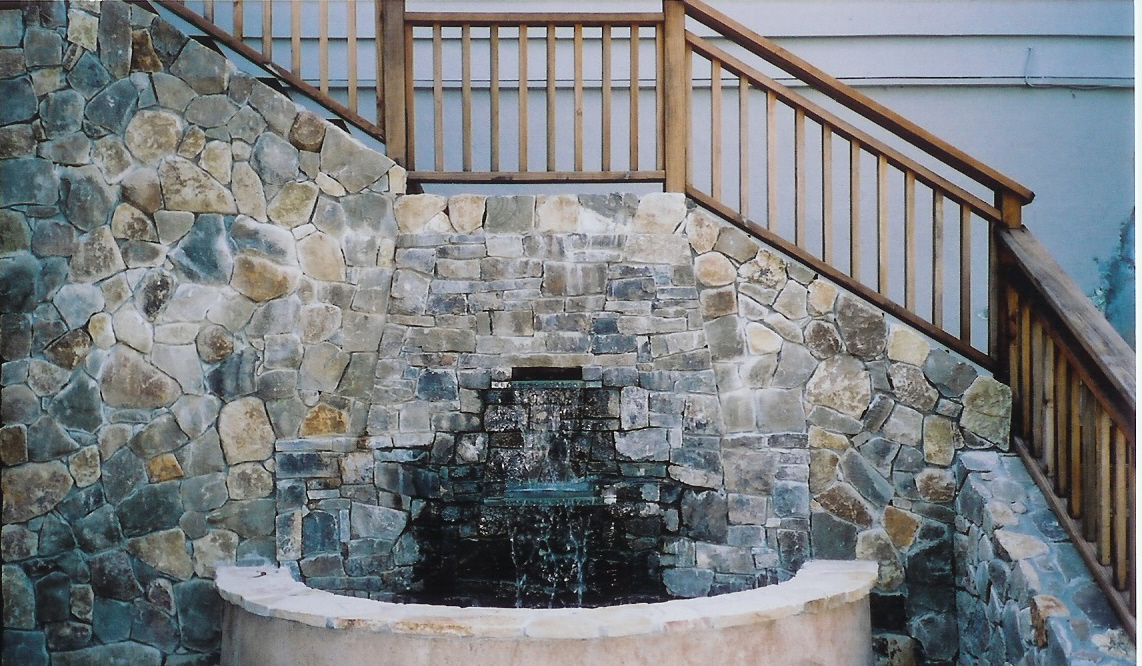 Water features classic design and construction llc for Classic building design